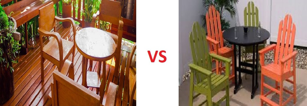 Wooden Vs Plastic Furniture