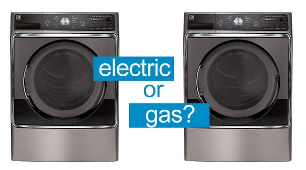 Gas vs. Electric stackable washer dryer