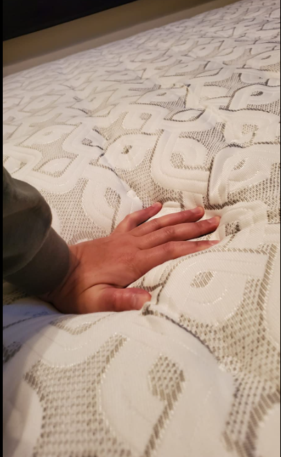Sealy comfortable sleeping experience from this mattress