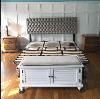 this headboard can definitely help your feat