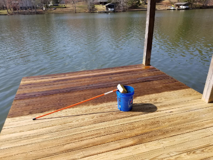 Best Deck cleaner for hard surface:DEFY Wood Deck Cleaner – 2.25 LBs